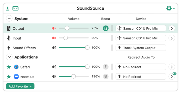 SoundSource Muted